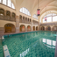 The pool on campus (located in the hotel). Open 5 days a week on average, 50% discount for students